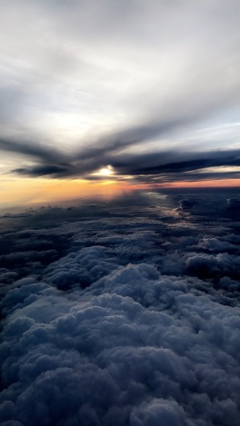 The sky on the way back to GA from New York City. PHOTO/ DURDEN SMITH
