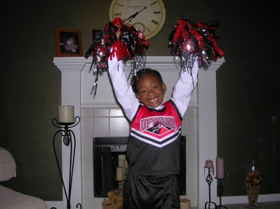 From the beginning I wanted to be a cheerleader