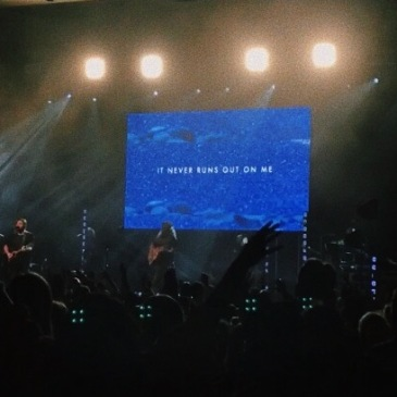 "I'm a Christian. My Faith is a big thing for me. I took this photo during Bethel Worship at the ""Killing Kryptonite"" conference."