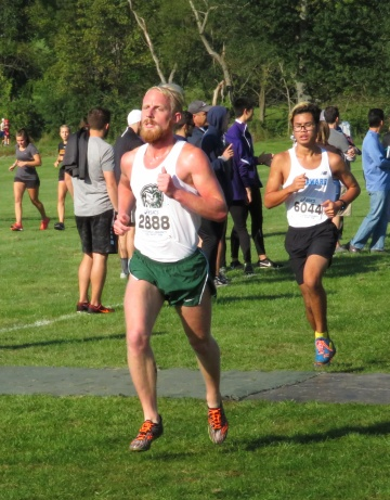 Nate Crews, Senior and Cross Country runner for Piedmont College, competes at the Paul Short Invitational in Bethlehem Pennsylvania. Crews finished 410 out of 437 runners in the five mile run.