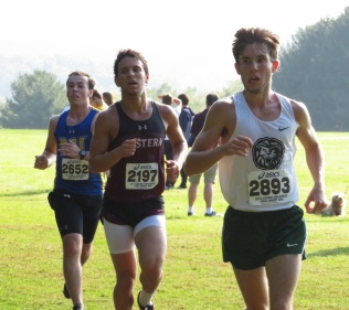 Jeremy Halbrook, Freshman and Cross Country runner for Piedmont College, competes at the Paul Short Invitational in Bethlehem, Pennsylvania. Halbrook finished 391 out of 437 runners in the five mile run.