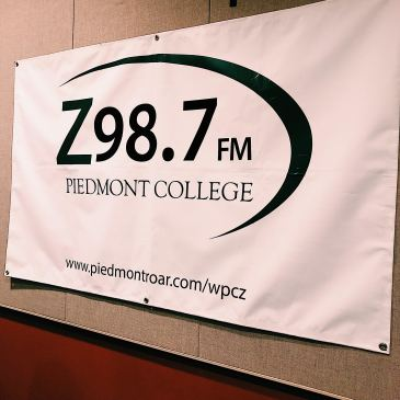 Marion has learned many things in radio from Professor Dale Van Cantfort while being at Piedmont. Marion went from learning the basics of radio to producing her own show Tea Time With Tracy on Z98.7FM, the student run radio station at Piedmont College.