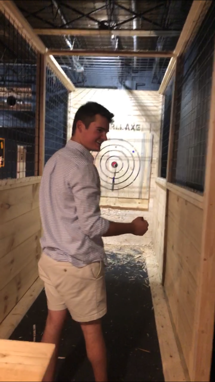 Will Sargent Axe Throwing