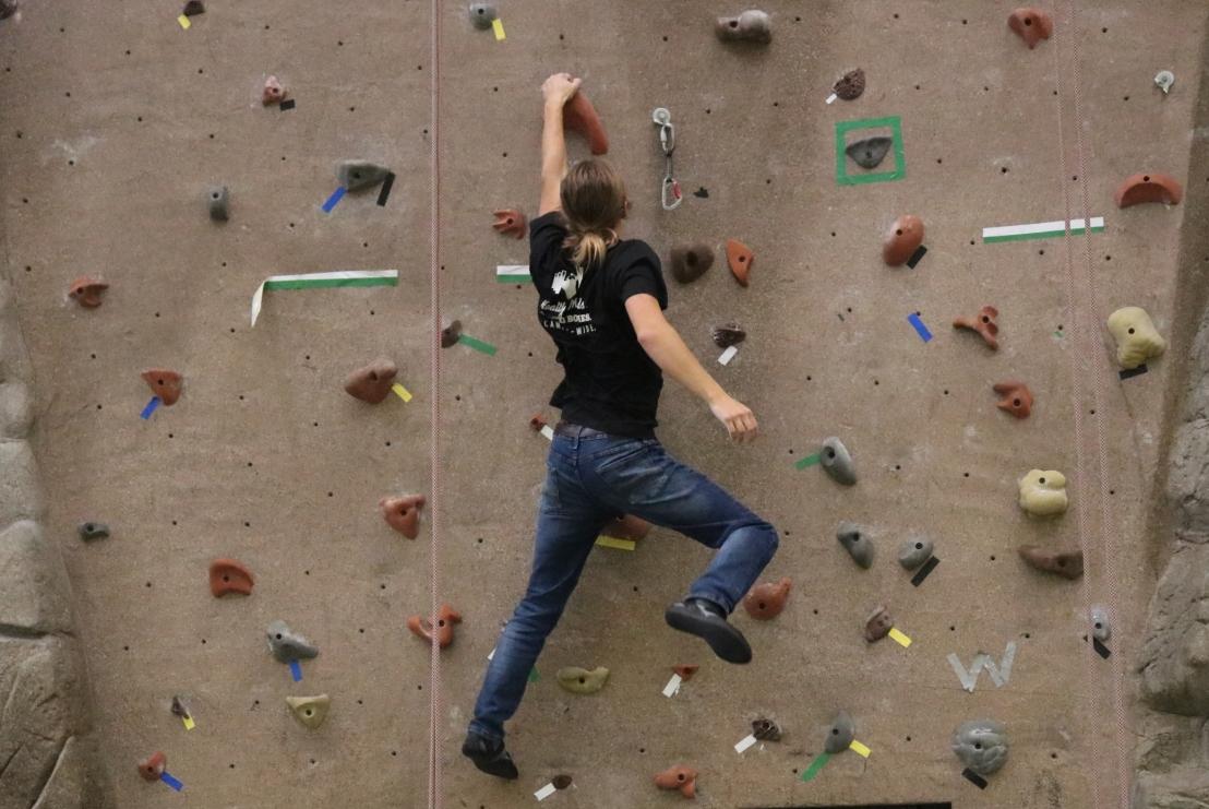 Noah Climbing